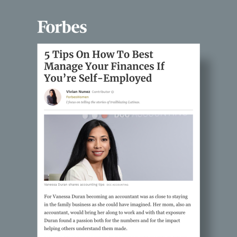 DCC Principal Shares Tips with Forbes On How To Best Manage Your Finances If You're Self-Employed. Read full story.